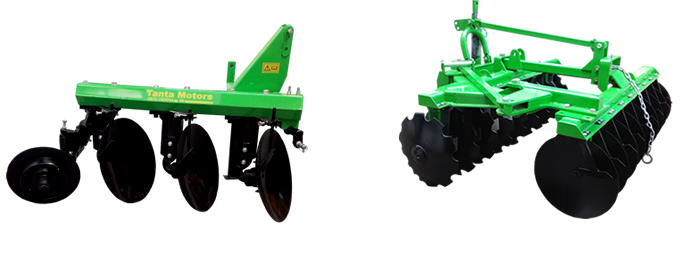 TANTA Disc Ploughs and Harrows